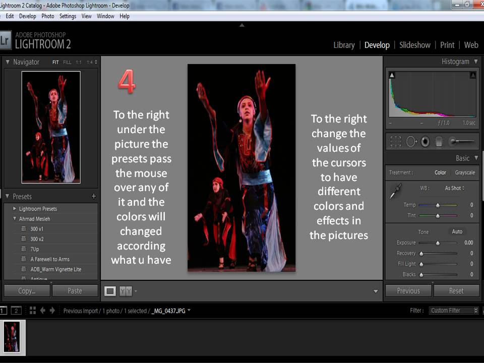 How to use Adobe light room ? (5/6)